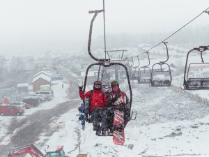 Access chairlift at Glencoe