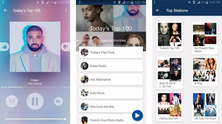 Jango Radio 10 Aplikasi Pemutar Musik Paling Populer