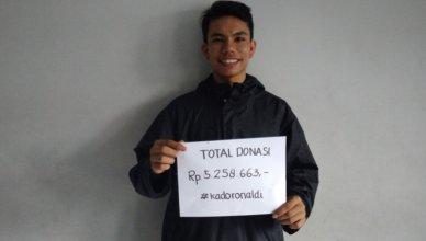 Ronaldi Tumanggor galang dana untuk pendidikan anak desa