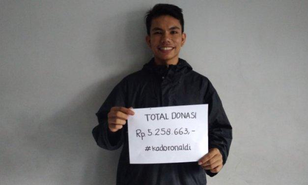 Founder ruangmahasiswa.com Galang Dana untuk Pendidikan Anak Desa
