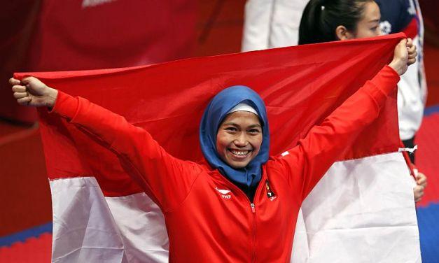 3 Hal yang Patut Diteladani dari Defia Rosmaniar, Atlet Taekwondo Berprestasi