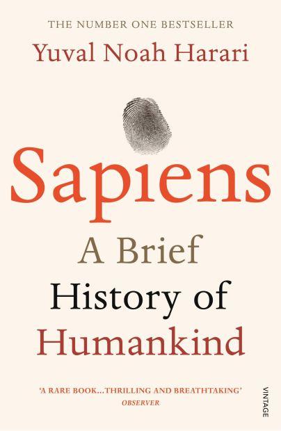 sapiens a brief history of humankind - judul buku terbaik