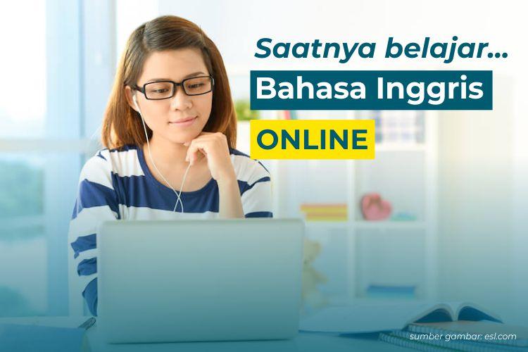 6 Kursus Online Bahasa Inggris Terbaik di Indonesia