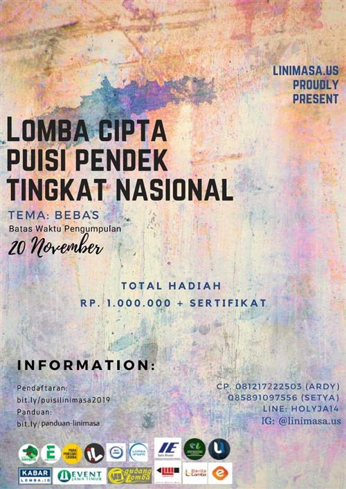 Lomba Cipta Puisi Nasional