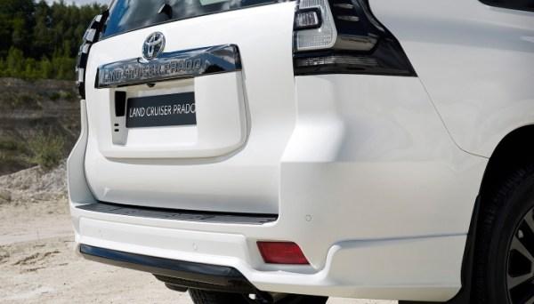 Обновленный Тойота Прадо 2021 фото, видео, цена ...