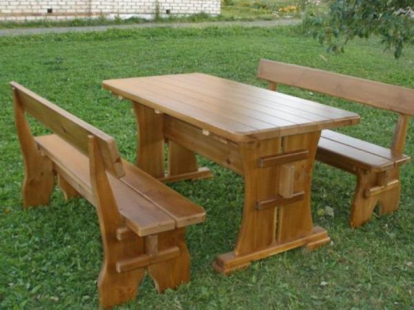 Столы для беседок из дерева: видео-инструкция по монтажу ...