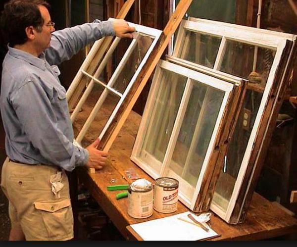 Деревянные окна для дачи: видео-инструкция по монтажу ...