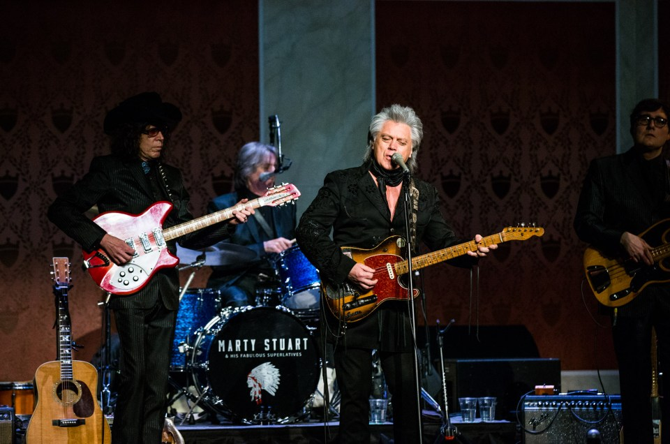 Marty Stuart - Memorial Hall OTR