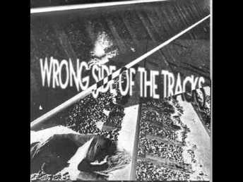 """Wrong Tracks 7"""" EP cover"""