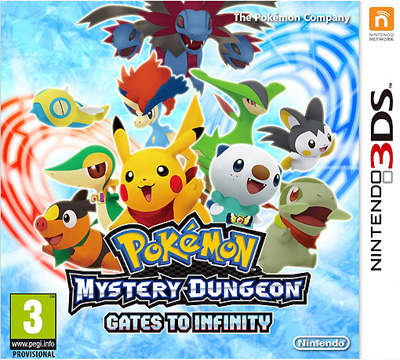 Análise - Pokémon Mystery Dungeon: Gates to Infinity