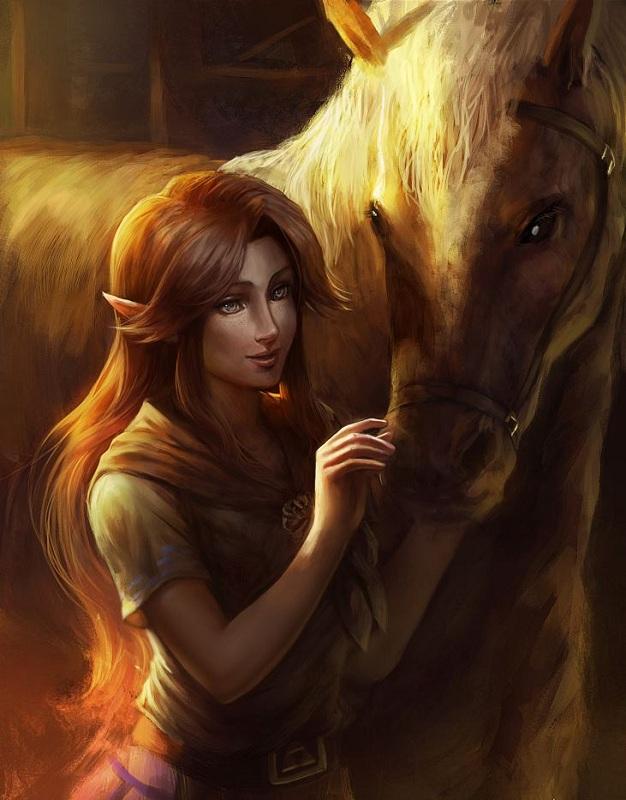 Malon Legend of Zelda