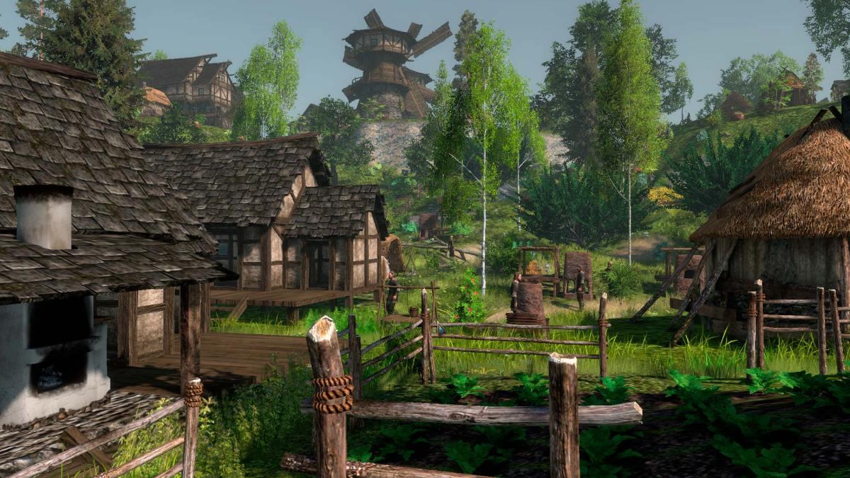 Life is Feudal: Forest Village - Banished em construção