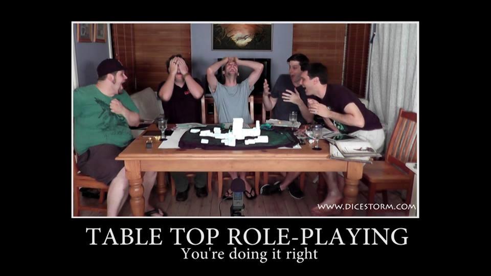 RPGS: há uma tabela para isso