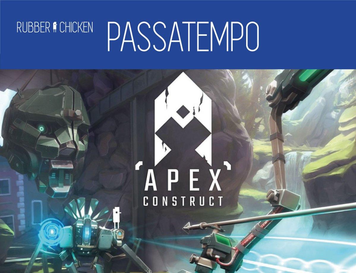 Temos uma cópia de Apex Construct para PSVR para oferecer