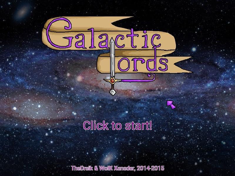 A preguiça não compensa. Galactic Lords