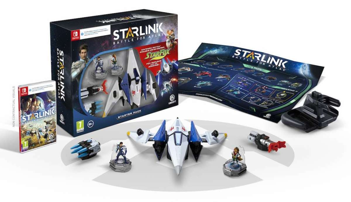 Starlink: Battle For Atlas e Starfox