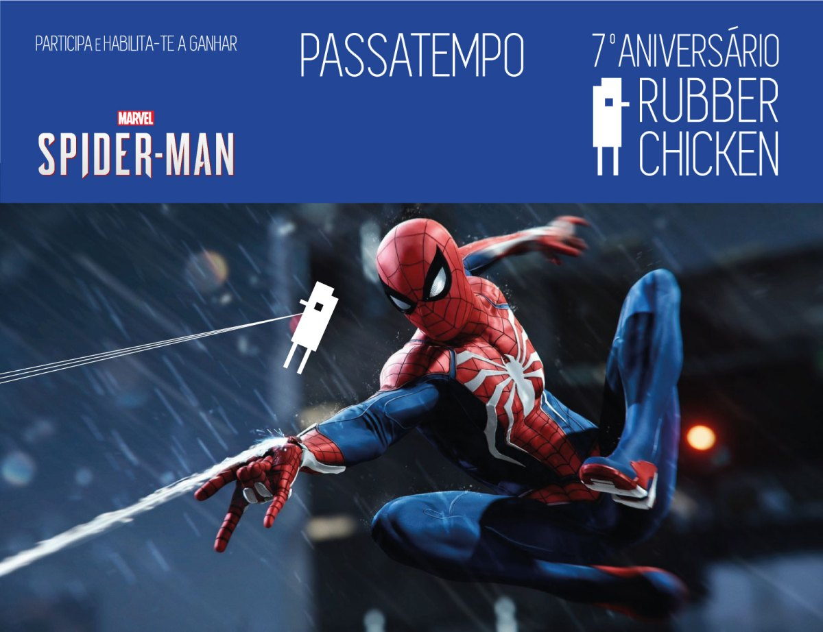 7º ANIVERSÁRIO DO RUBBER CHICKEN: MARVEL'S SPIDER-MAN