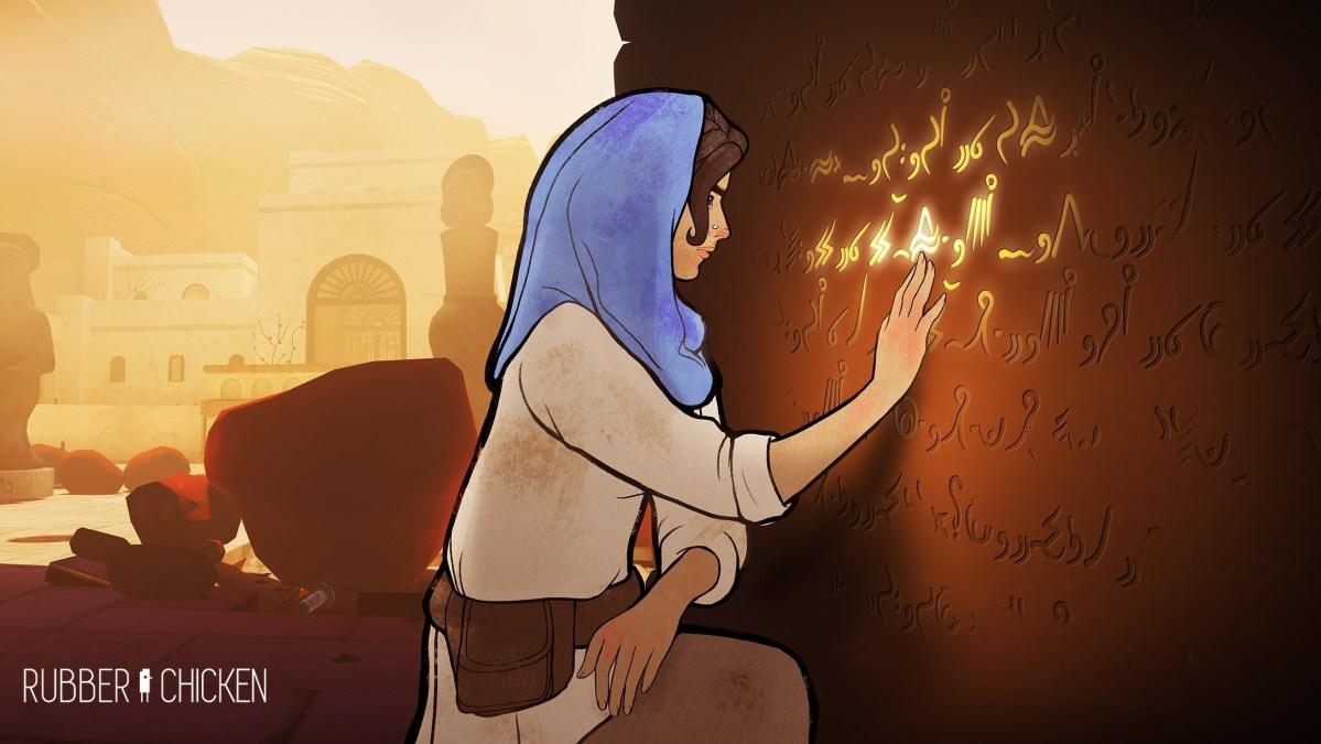 Heaven's Vault: como conceber a verdadeira arqueologia linguística