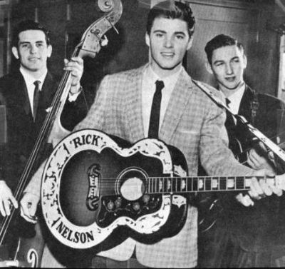 Image result for Elvis and Ricky Nelson