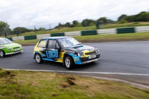 Irish supernational driver Micheal Coyne