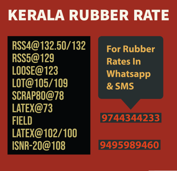 Use our service to know the exact price of rubber in Kerala.
