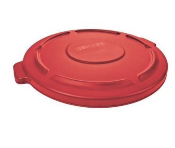 Rubbermaid 2631 Brute 32 Gallon Lid For 2632 Red Waste