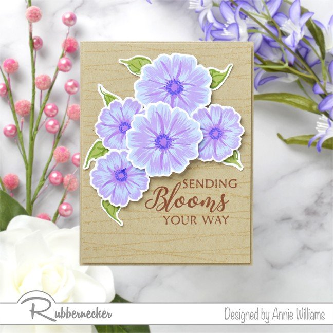 Rubbernecker Blog Sending-Bright-Blooms-Card-by-Annie-Williams-Main