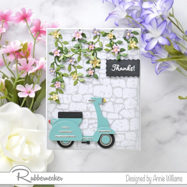 Rubbernecker Blog Springtime-Scooter-Thank-You-Card-by-Annie-Williams-Main