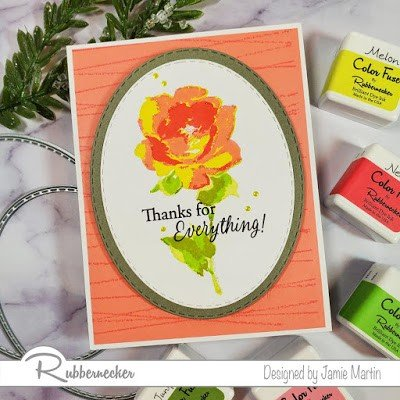 Rubbernecker Blog stamped-rose-card