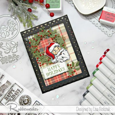Rubbernecker Blog Santa-Christmas-Cards