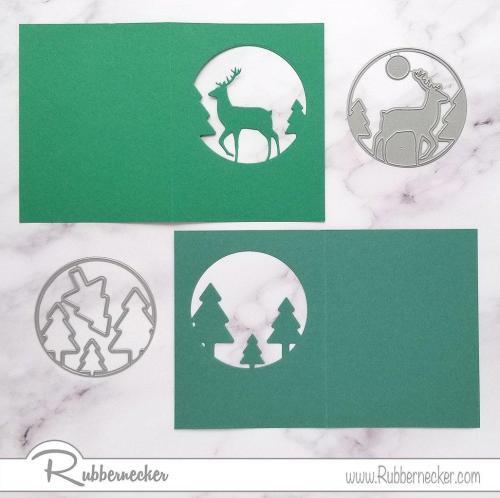 Rubbernecker Blog Tri-fold-Snowy-Scene-Card-by-Annie-Williams-for-Rubbernecker-Diecut-Panels-500x498