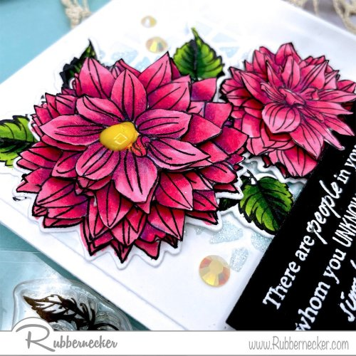 Rubbernecker Blog 3D-Flowers-using-outlline-floral-stamps--500x500