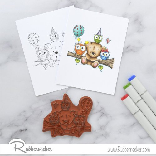 Rubbernecker Blog Birthday-Buddies-Card-by-Annie-Williams-for-Rubbernecker-Coloring-500x500
