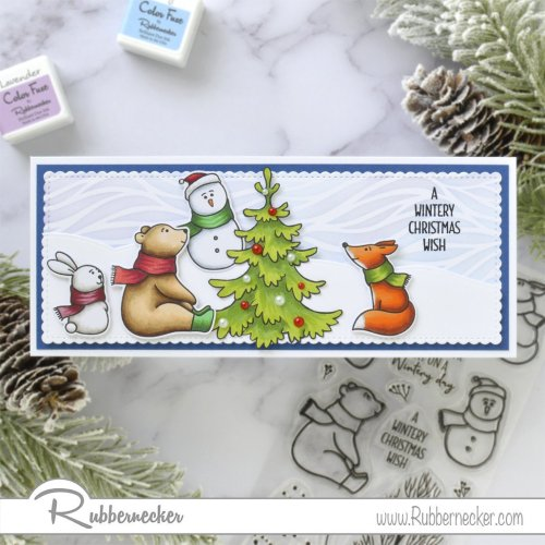 Rubbernecker Blog Winter-Friends-Slimline-Card-by-Annie-Williams-for-Rubbernecker-Flat-500x500