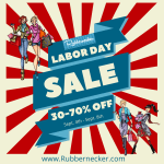 Rubbernecker Blog LaborDaySale