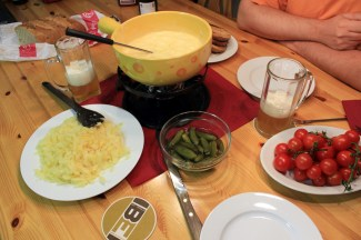 Fondue to celebrate 12 years!