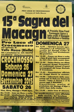 Sagra del Macagn