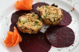 Antipasto (crustless zucchini quiche)
