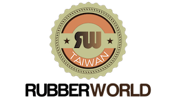 rubber world seal logo