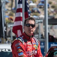 MENCS: Joey Logano Spoils Kyle Busch's Shot at Victory