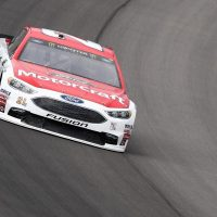 MENCS: Blaney and Larson Lead Friday Practices