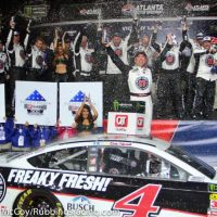 MENCS: Kevin Harvick Claims Atlanta Victory in Dominating Fashion
