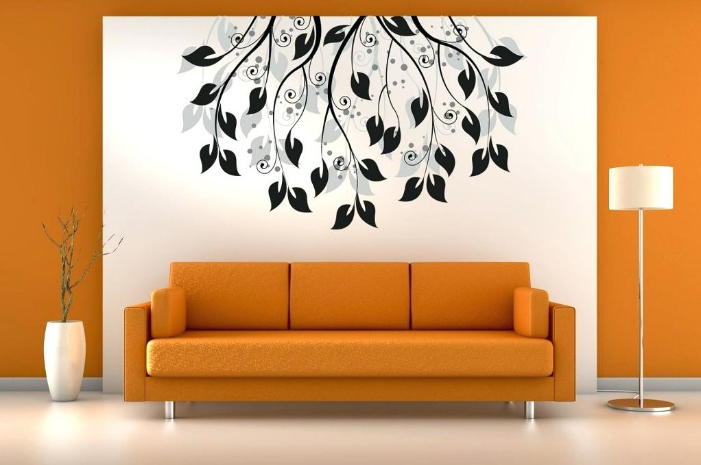simple-wall-painting-designs-for-living-room-modern ... on Modern House Painting Ideas  id=33118