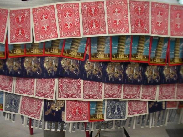 Playing Card Skirt detail