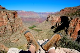 Kicking back. Grand Canyon, AZ, US