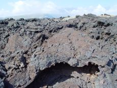 Tenerife - old lava channel