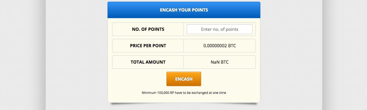 Freebitco.in cambio puntos por bitcoins