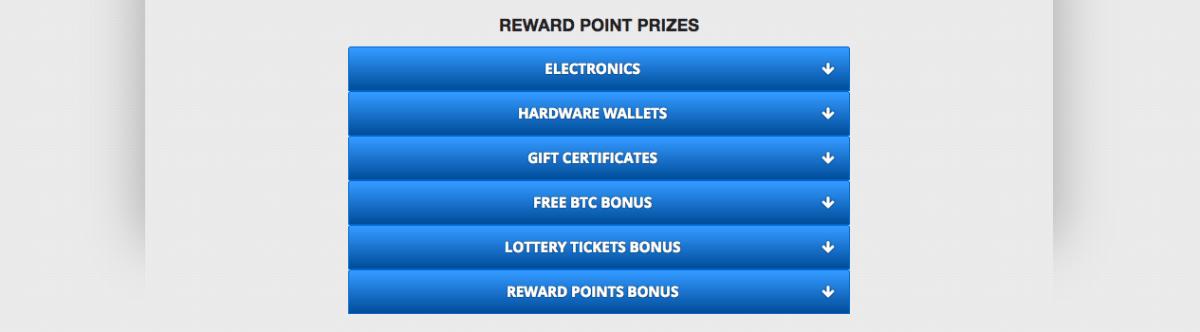 Freebitcoin puntos por regalos