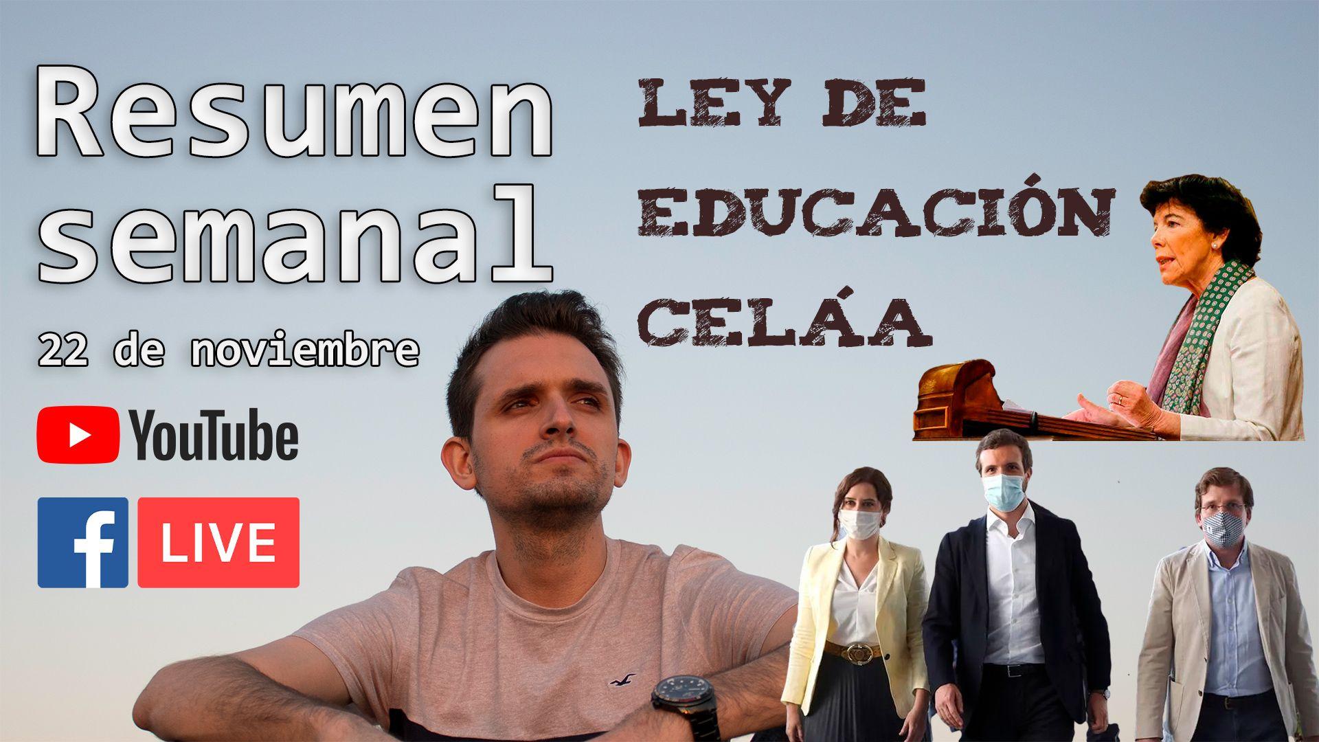 Ley de educación Celáa, Pazo de Meirás y español en China