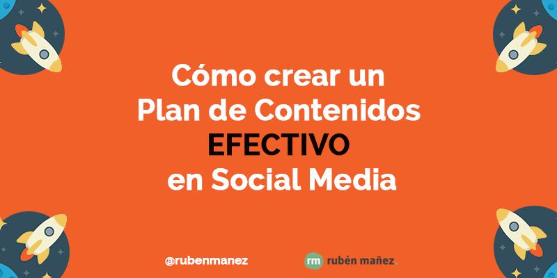 plan de contenidos social media